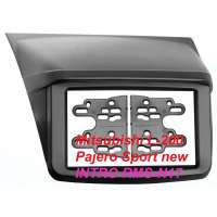 Переходная рамка MITSUBISHI L-200 / Pajero Sport new, 2-DIN (RMS-N17)