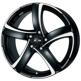 Alutec Shark 8x18/5x112 ET45 D70.1 Racing black polished