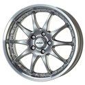 Alutec Kyro 7x15/5x114.3 ET40 D70.1 Sterling Silver