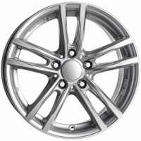 Alutec X10 7x16/5x120 ET40 D72.6 Polar Silver