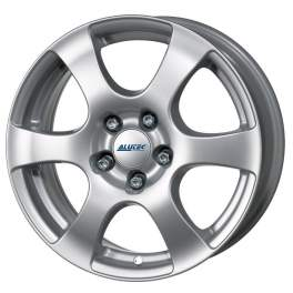 Alutec Plix 6.5x16/5x100 ET40 D63.3 Polar Silver