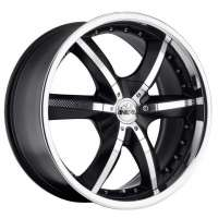 Antera 389 9.5x20/6x139.7 ET12 D108.6 Racing Black Lip Polished
