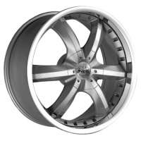 Antera 389 10x22 / 5x112 ET52 DIA66,6 Silver Matt Lip Polished