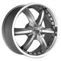 Antera 389 9.5x20/5x130 ET52 D71.6 Silver