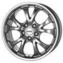 Alutec Nitro 8x18/5x114.3 ET38 D70.1 Sterling Silver