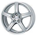 Alutec Grip 6.5x16/5x108 ET50 D63.4 Polar Silver