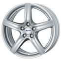 Alutec Grip 6.5x16/5x112 ET33 D57.1 Polar Silver