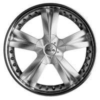 Antera 345 8.5x18/5x127 ET40 D71.6 Polar Silver