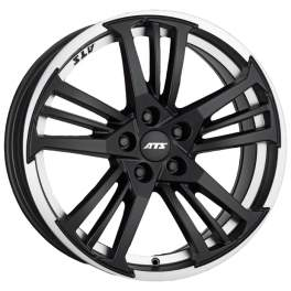 ATS Prazision 9x20/5x120 ET30 D72.6 Racing Black Double lip polished