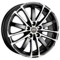 ATS X-Treme 7.5x17/5x108 ET45 D70.1 Racing black front polished
