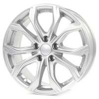 Alutec W10 7.5x17/5x112 ET45 D66.5 Polar Silver