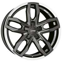 ATS Temperament 9.5x20/5x112 ET35 D75.1 Blizzard Grey Lip Polished