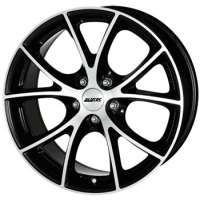 Alutec Cult 8.5x18/5x108 ET40 D70.1 Diamant black front polished