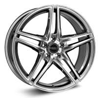 Borbet XRT 8x18/5x114.3 ET40 D72.5 Graphite polished