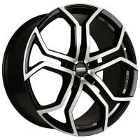 Fondmetal 9XR 9x20/5x120 ET45 D74.1 Black polished