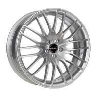 Borbet CW4/5 8x18/5x114.3 ET40 D72.5 Cristal silver