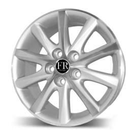FR replica TY237 7x17/5x114.3 ET39 D60.1 Silver