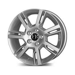 FR replica V460 7x16/5x108 ET50 D63.4 Silver