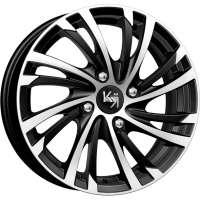K&K Мейола 6x15 / 4x100 ET48 DIA54,1 Алмаз черный