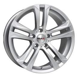 MAK Bimmer 8x18/5x120 ET30 D72.6 Silver
