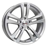MAK Bimmer 9.5x20/5x120 ET44 D72.6 Silver