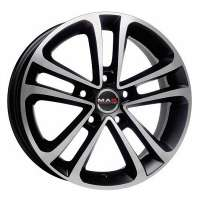 MAK Invidia 7x16/5x108 ET45 D72 Ice Black