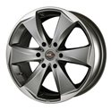 MAK Raptor6 7.5x17/6x139.7 ET46 D92.3 Graphite Mirror Face