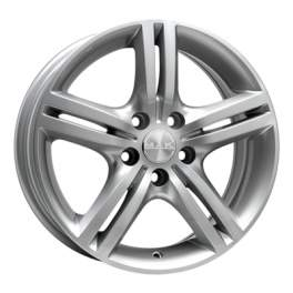 MAK Veloce Italia 6x15/5x105 ET39 D56.6 Silver