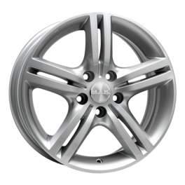 MAK Veloce Italia 7.5x17/5x110 ET35 D65.1 Silver